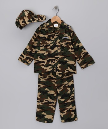 Camo Army Dress-Up Set - Toddler & Kids