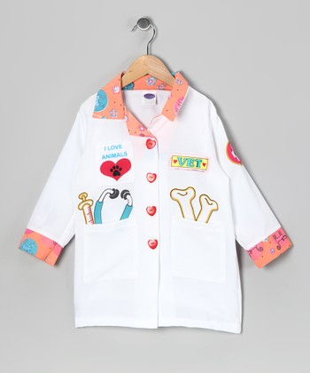 White Veterinarian Jacket - Toddler