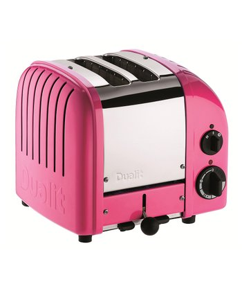 Chilly Pink Classic Two-Slice Toaster