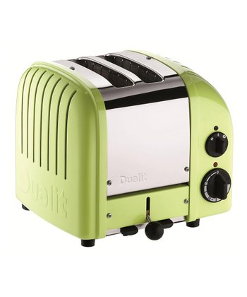 Lime Green Classic Two-Slice Toaster