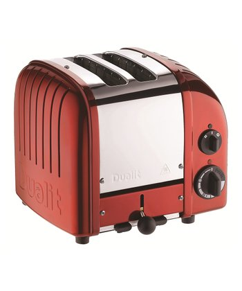 Candy Apple Red Two-Slice Toaster