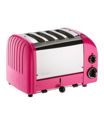 Chilly Pink Classic Four-Slice Toaster