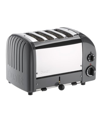 Cobble Gray Classic Four-Slice Toaster