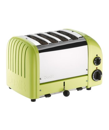 Lime Green Classic Four-Slice Toaster
