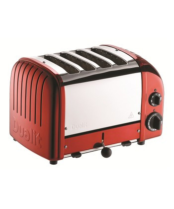 Candy Apple Red Classic Four-Slice Toaster