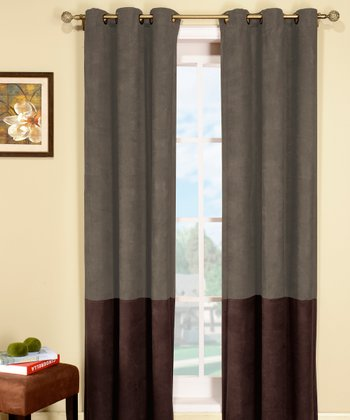Sage & Brown Birmingham Curtain Panel - Set of Two