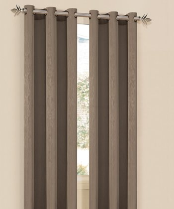Sandstone Elsie Curtain Panel - Set of Two