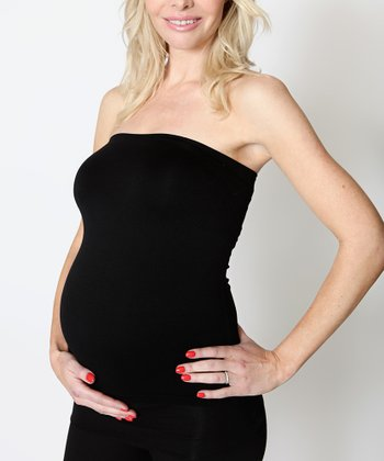Black Flexitube Maternity Top