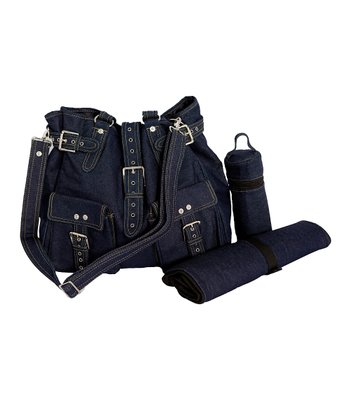 Denim Bambino Diaper Bag