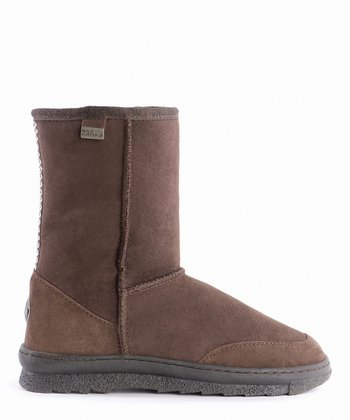 EMU Australia Chocolate Platinum Outback Boot