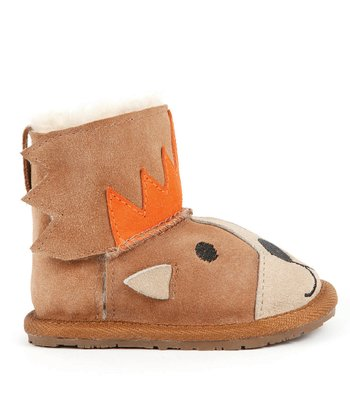 Chestnut Lion Walker Boot - Kids