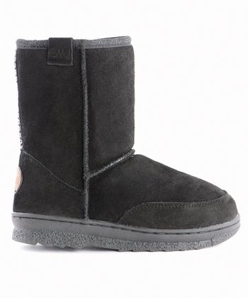 Black Bush Ranger Low Boot - Kids