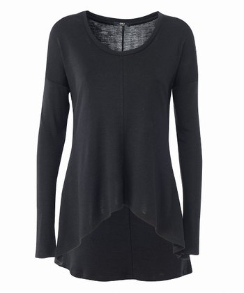 Black Toora Merino Wool Top - Women