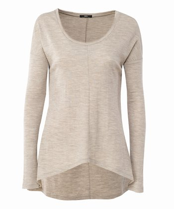 Sand Toora Merino Wool Top