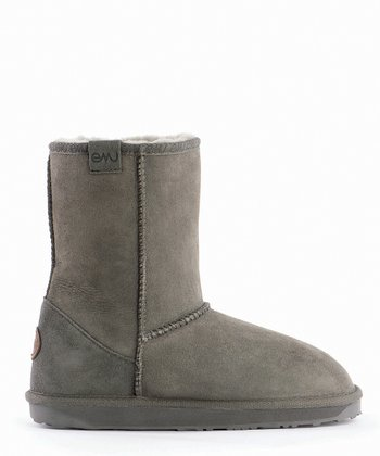 Charcoal Stinger Lo Boot - Women