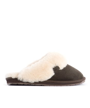 Chocolate Suede Jolie Slipper - Women
