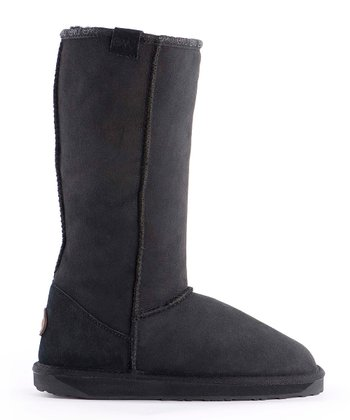 Black Stinger Hi Boot - Women