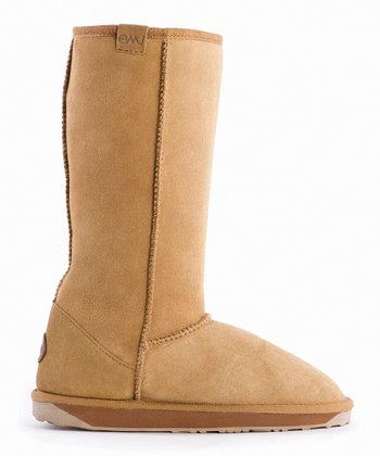 Chestnut Suede Stinger Hi Boot - Women