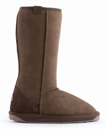 Chocolate Suede Stinger Hi Boot - Women