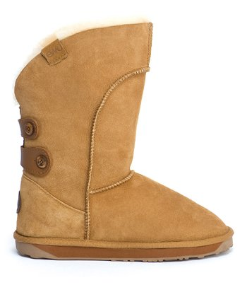 Chestnut Suede Alba Boot - Women