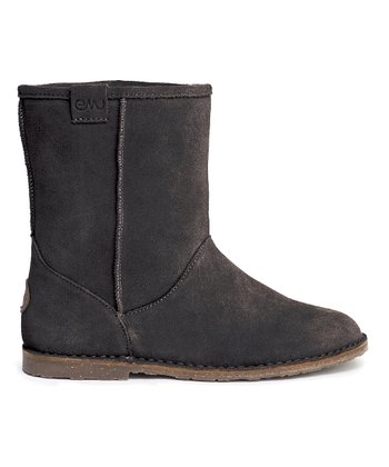 Black Inverlock Boot - Women