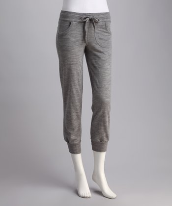 Gray Marle Bingil Bay Merino Wool Lounge Pants - Women