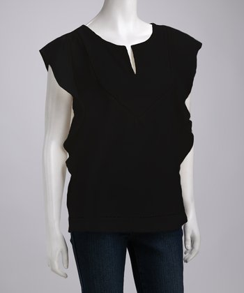 Black Ballina Merino Wool Top