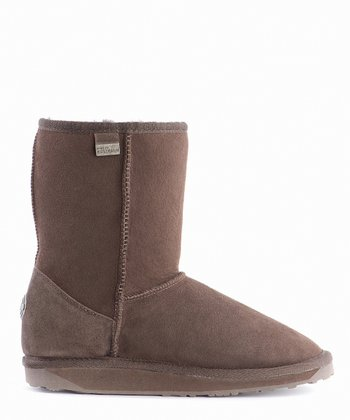 EMU Australia Chocolate Platinum Stinger Mid Boot - Women