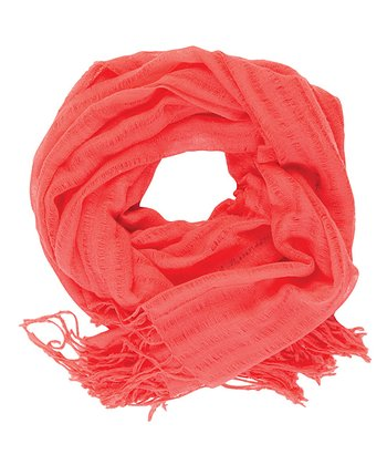 Coral Pacific Heights Merino Wool Scarf - Women