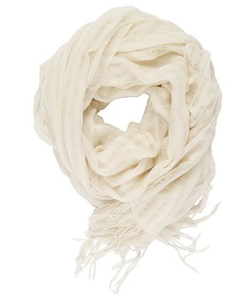 Natural Pacific Heights Merino Wool Scarf - Women