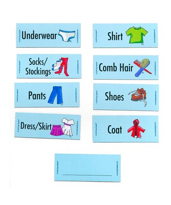 Get Dressed Magnet Set