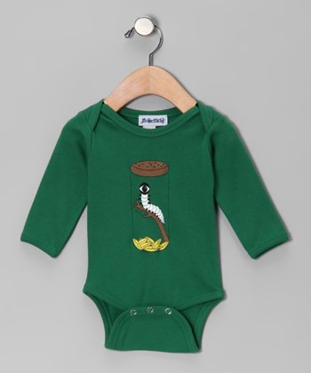 Green Cyclopillar Bodysuit - Infant
