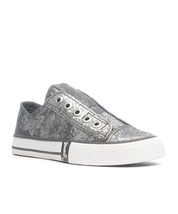 Gray Bling Shoe