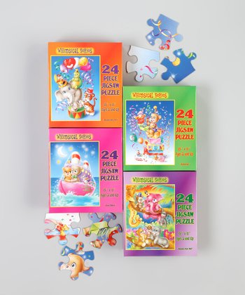 Whimsical Puzzle Set