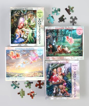 Sparkle Fairies Puzzle Set