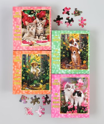 Dog & Cat Puzzle Set