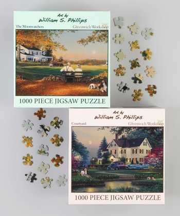 William Phillips Art Puzzle Set