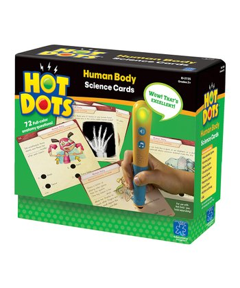 Human Body Hot Dots Card Set