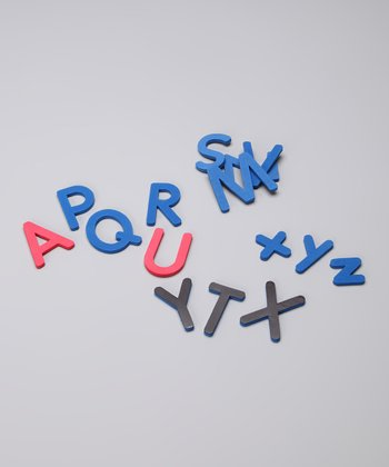 Magnetic Foam Letters Set