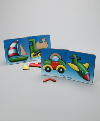 Transport Tuzzles Puzzle Set