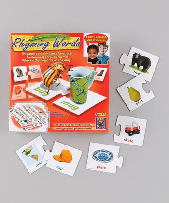 Rhyming Words Early Learning Game