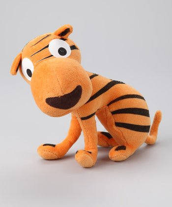 Orange Sven the Tiger Plush Toy