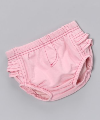 Pink Denim Diaper Cover
