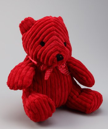 Red Christmas Plush Bear