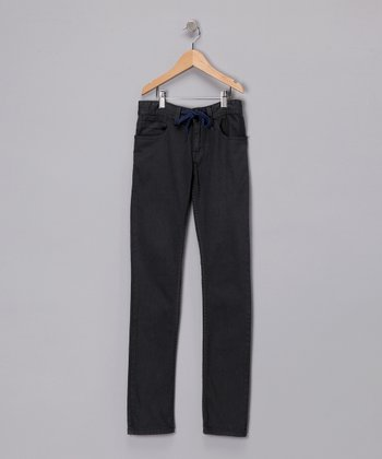 Dark Charcoal Grind Denim Jeans
