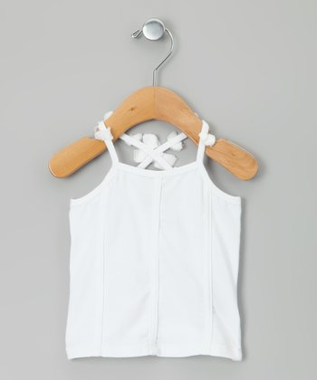 White Cocotte Tank - Infant, Toddler & Girls