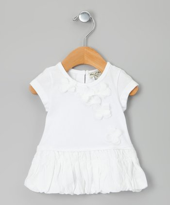 White Gigotte Dress - Infant & Toddler