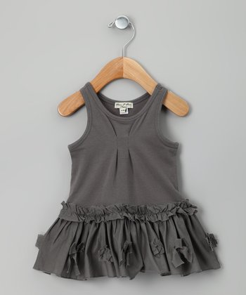Gray Litotte Dress - Infant, Toddler & Girls