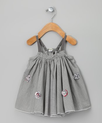 Gray Palotte Dress - Infant & Toddler