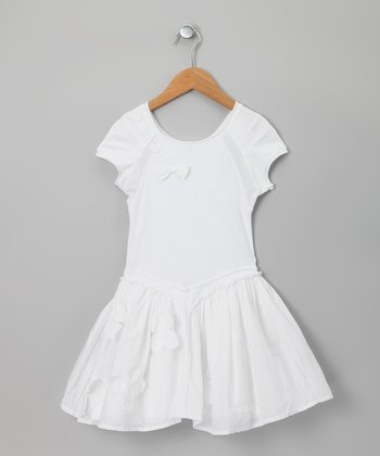 White Sensuelle Dress - Girls